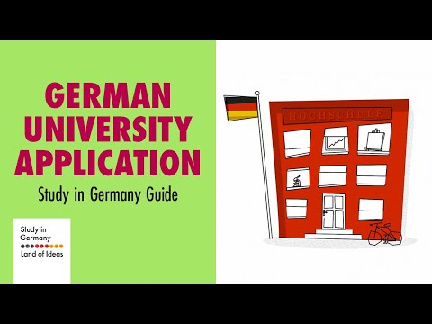 How to apply for a degree programme in Germany
